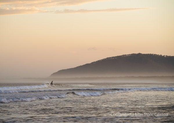 2021 calendar Seven Mile Beach surfer