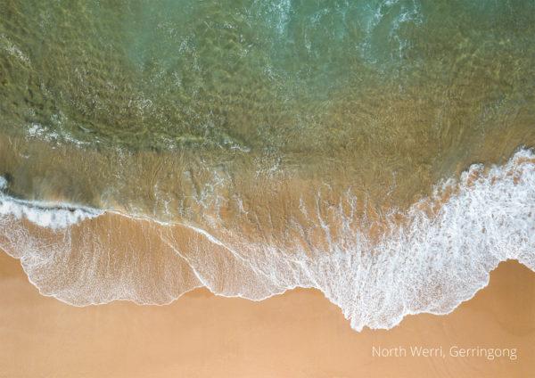 2021 calendar Aerial drone image of Werri Beach