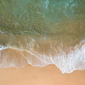 North Werri Lines - aerial view of ocean and beach