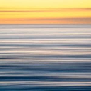 Brushstrokes V - Soft pastel lines - photo or painting? South Coast, Australia