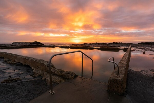 Werri Rockpool Sunrise - Autumn sunrises are pretty special... morning dip anyone? Gerringong, Australia